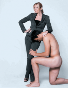 Over 70% of FLR women want men to bow to them